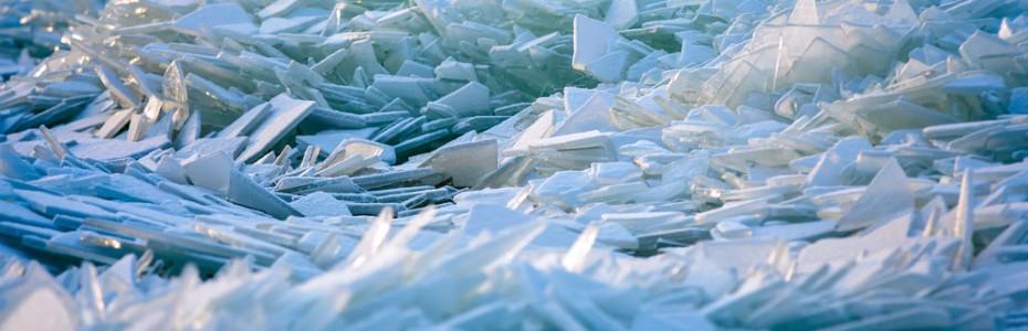 Snowpiercer - Dystopie - Baltic sea winter landscape (Quelle Shutterstock 174495545)